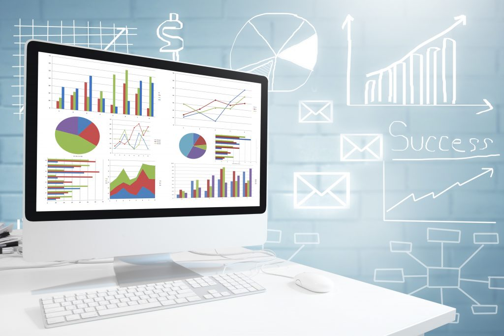 Dashboard with Charts. Business Success: Office Experts, Microsoft Excel, Microsoft Office, Microsoft Access, Microsoft Word, Microsoft PowerPoint